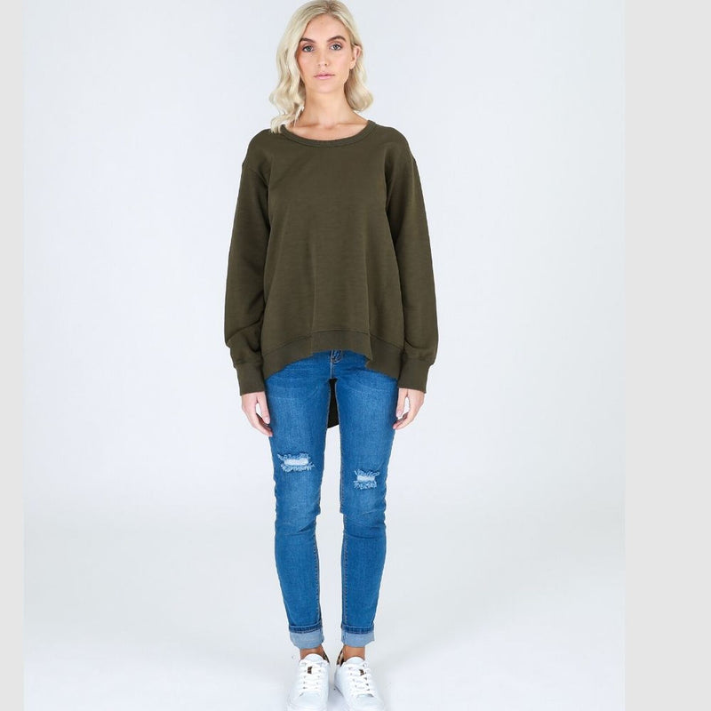 New Haven Sweater Khaki
