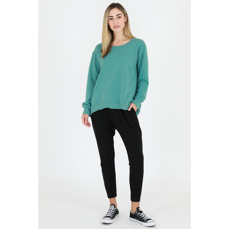 New Haven Sweater Sea Green