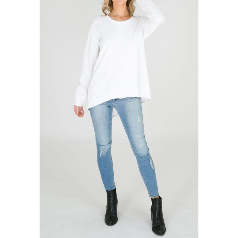 New Haven Sweater White