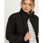 Rylie Puffa Jacket Black