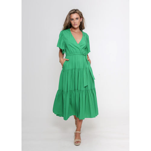 Dayna Dress Green