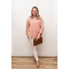 Sahara Button Shirt Rose
