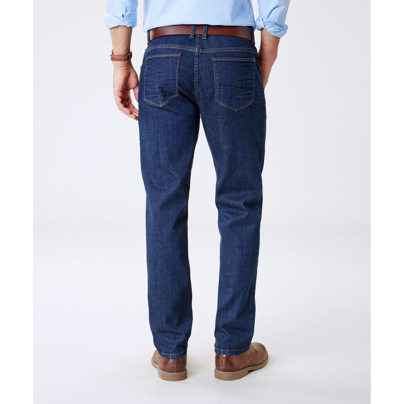 Straight Stretch Jean Dark Indigo