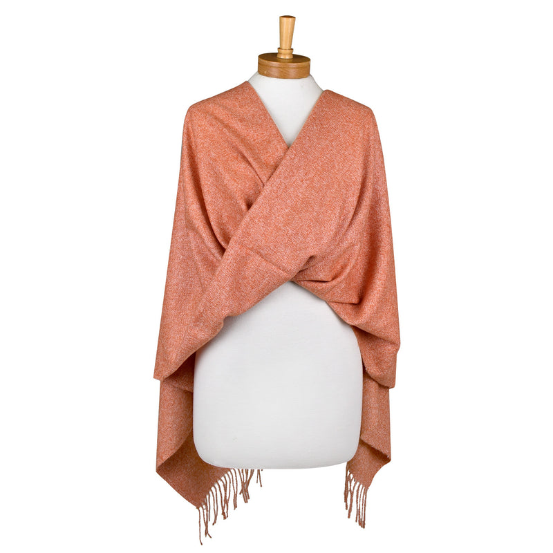 Plain Scarf Burnt Orange
