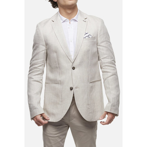 The Pegasus Linen Blazer Natural