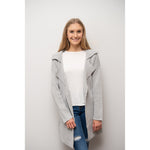 Zara Coatigan Grey