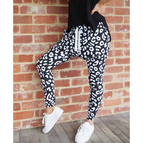 Billie Jogger Black/White
