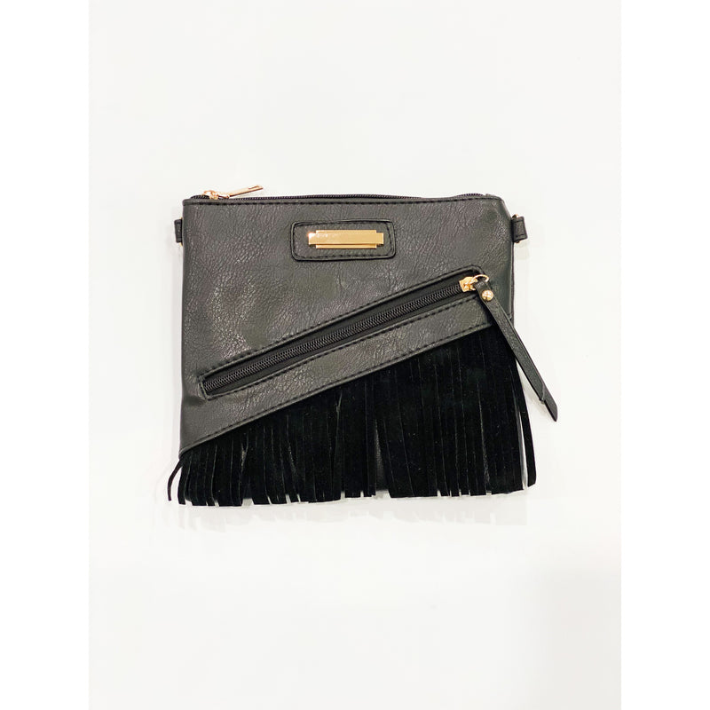 Black Tassle Bag