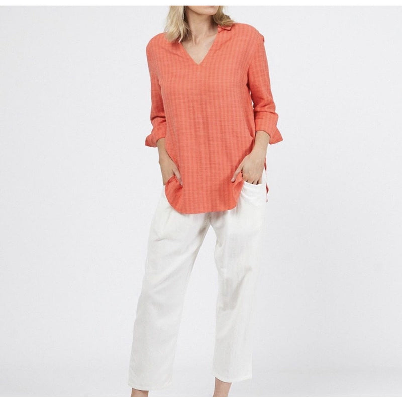 Izzy Shirt Coral