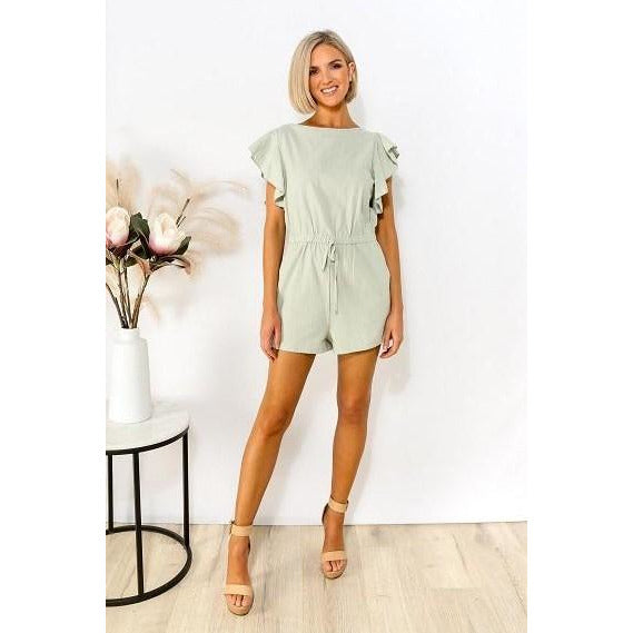 Stevie Playsuit Mint
