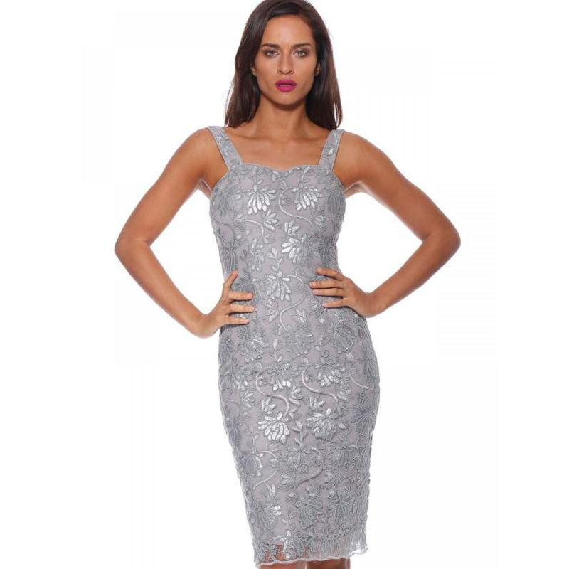 Rose Riviera Strapless Dress
