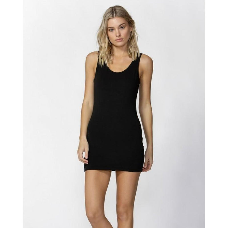 Whitney Tank Dress Black
