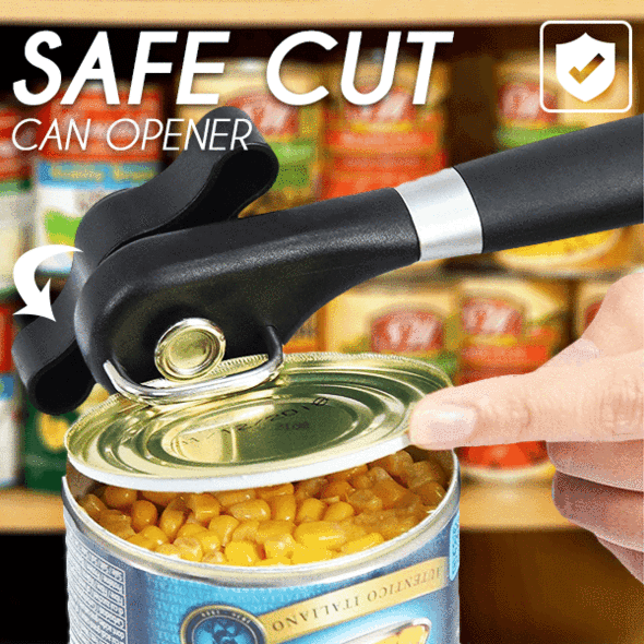 SafeCut™ Stainless Steel Safe Cut Can Opener