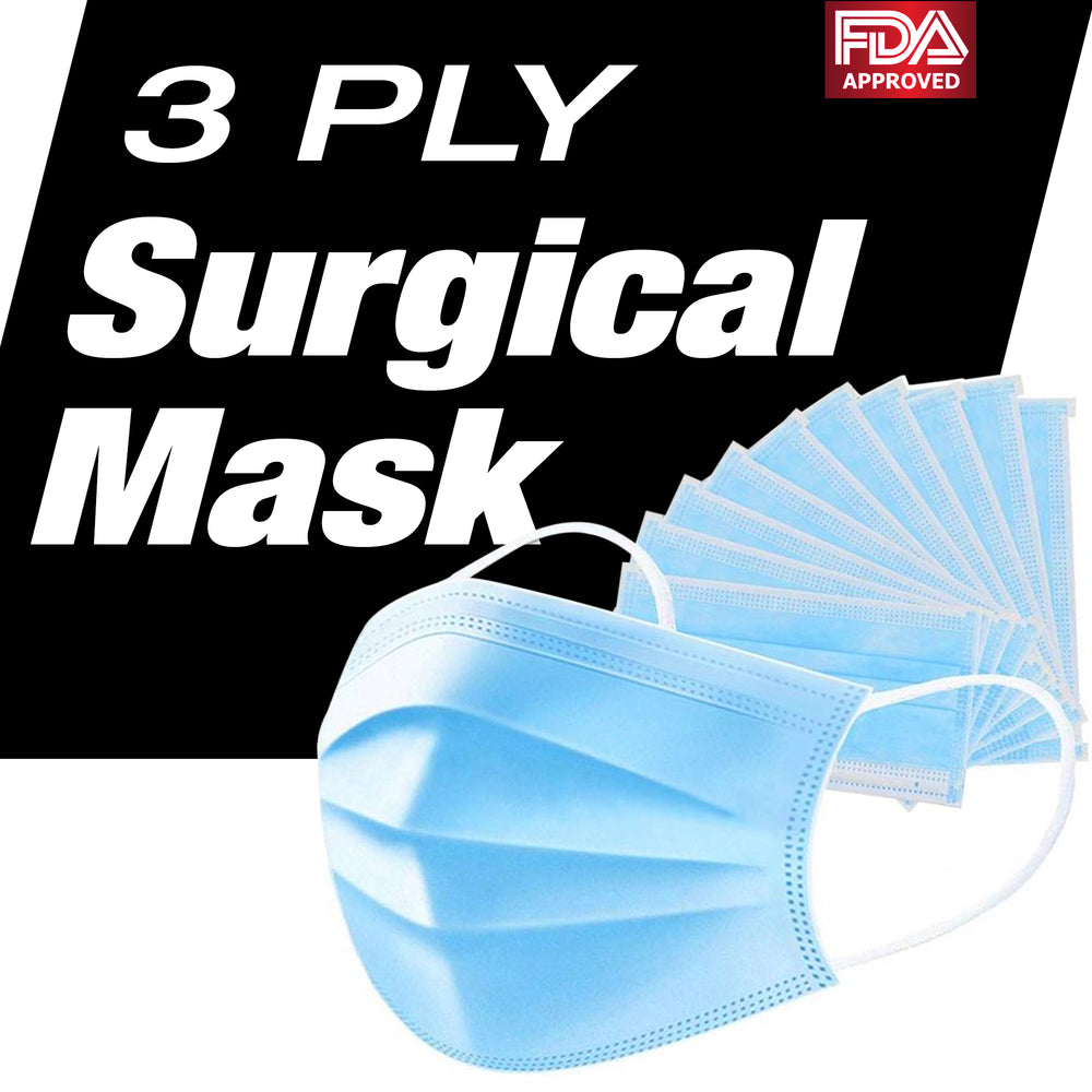 color: assorted ~ size 500 count ~ alt: 3-Ply Ear Loop Masks