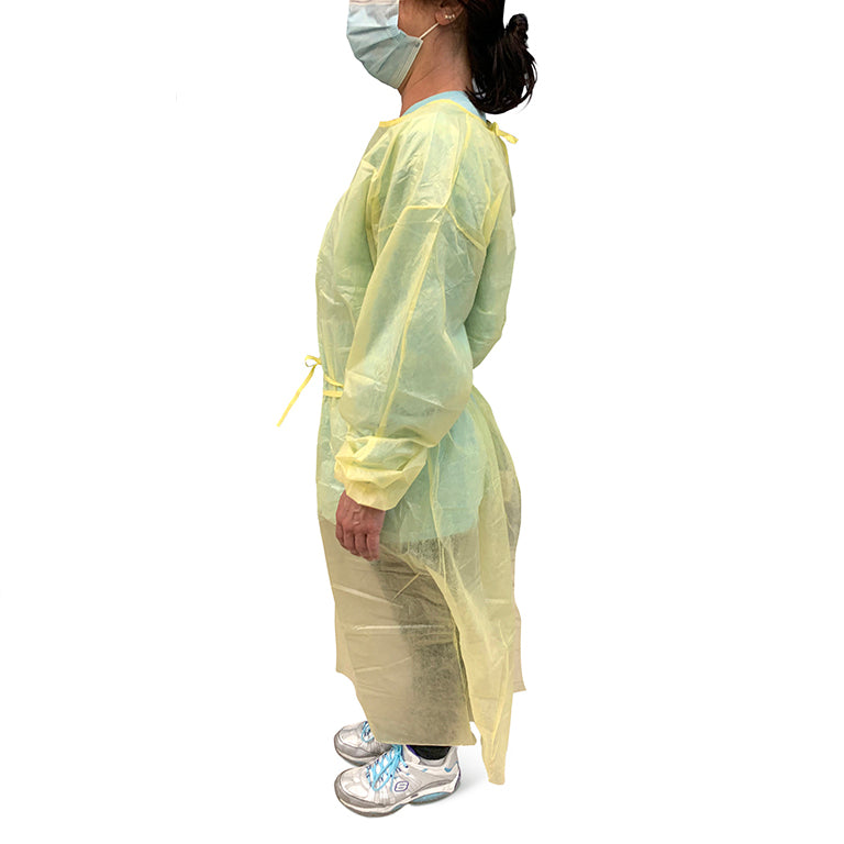 color: assorted ~ size 100 count ~ alt: Personal Protective Gowns ($6.40 ea)