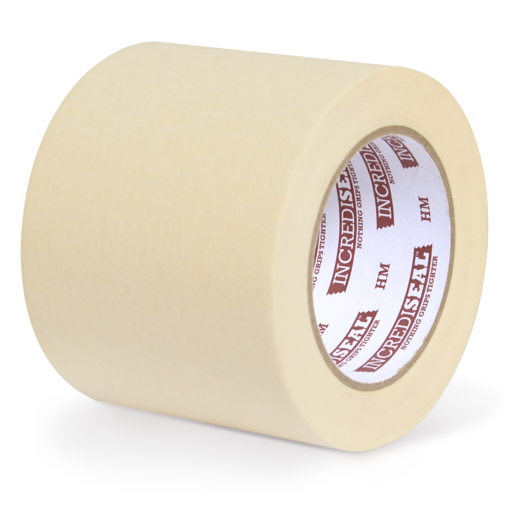 color: crepe ~ alt: Custom Slit Masking Tape, 60 Yards, Crepe