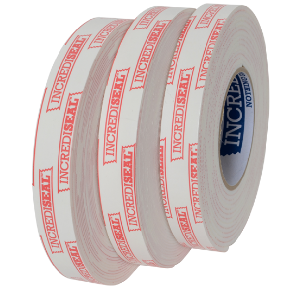 "color: White ~ alt: Double Sided Polyethylene Tape, 1/8"" thick x 5 Yards"