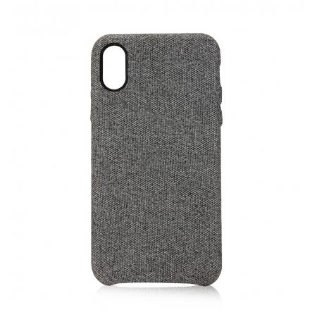 Axessorize - Allure fabric case for iPhone Xr Case Allure Glacier grey iPhone XR
