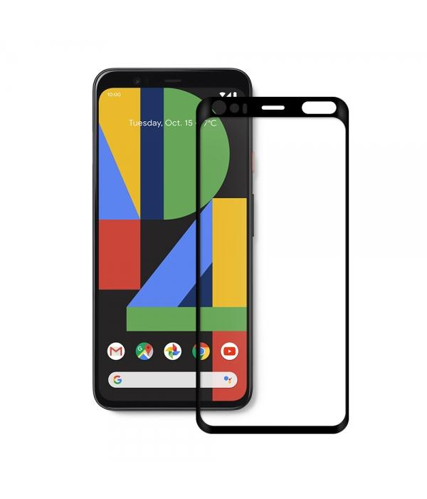 Curved tempered glass - Google Screen Protector Axessorize Google Pixel 4