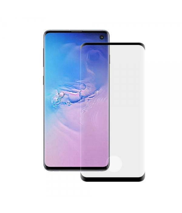Curved tempered glass - Samsung Screen Protector Axessorize Samsung Galaxy S10