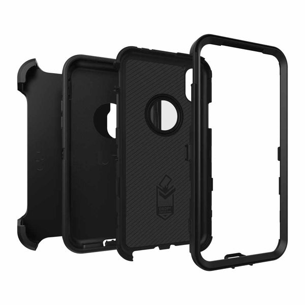 Defender Series Screenless Edition Protective Case Black for iPhone XS Max Case Otterbox