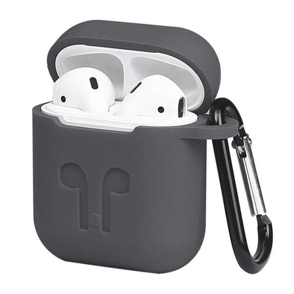 IntelCell - Silicone Case for Apple AirPods Case IntelCell Black