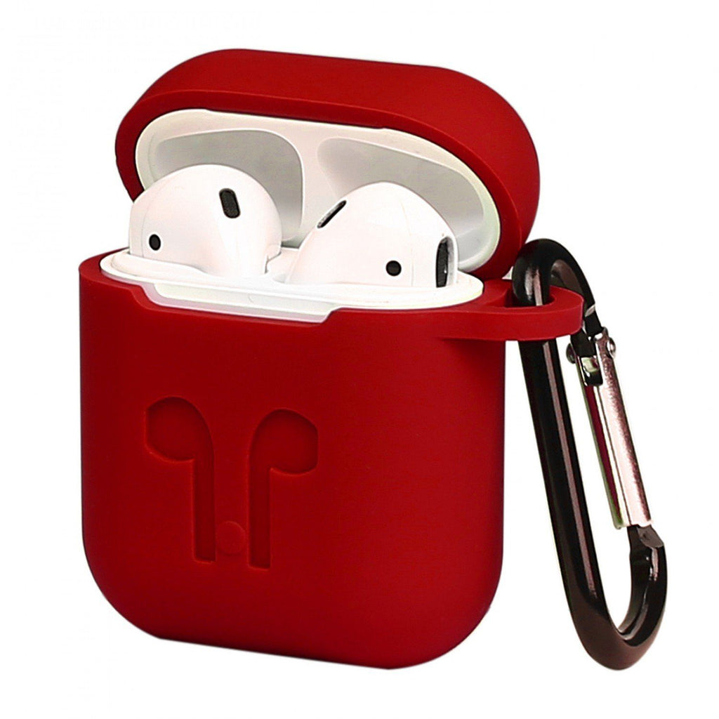 IntelCell - Silicone Case for Apple AirPods Case IntelCell Red