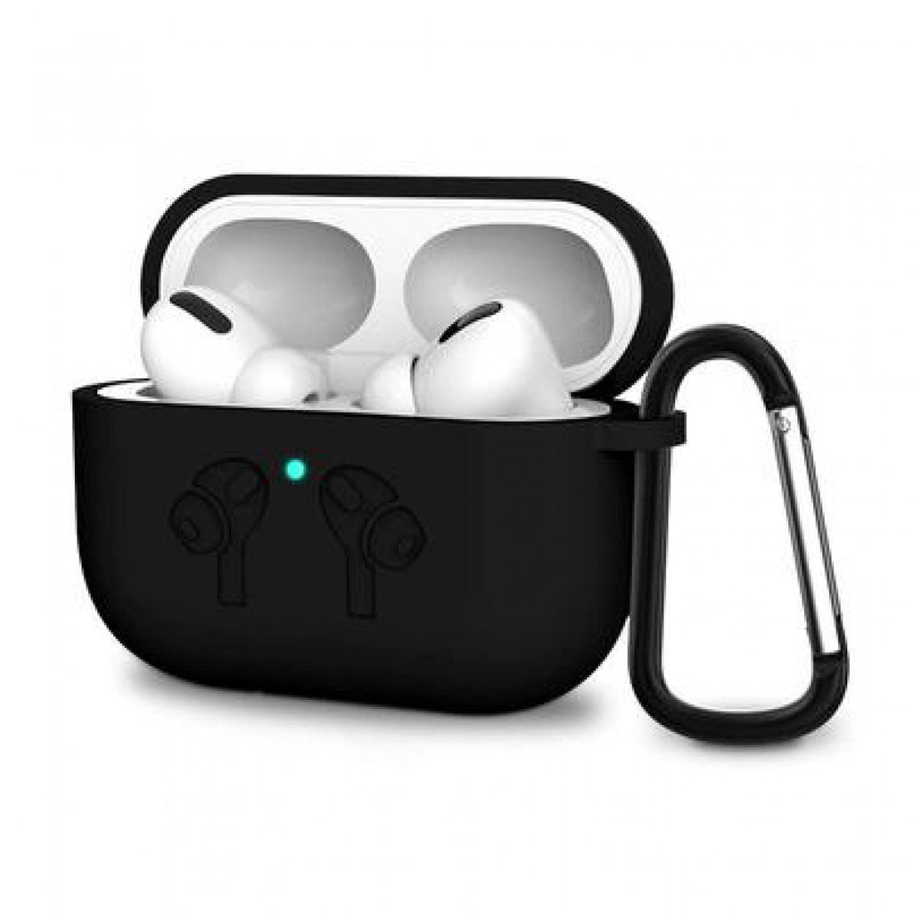 IntelCell - Silicone Case for Apple AirPods Pro Wireless earbuds IntelCell Black