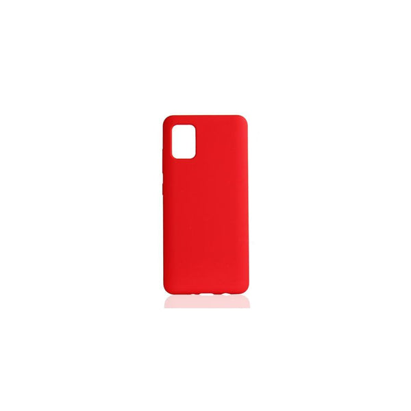 Intelcell - Silicone case for Galaxy S20 Plus Case IntelCell Red