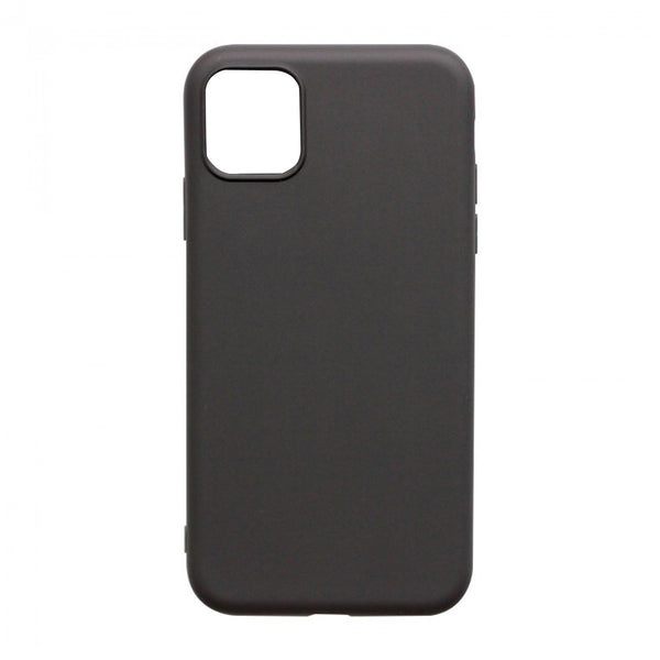 IntelCell - Soft Feeling Case for iPhone 12 / 12 Pro Case IntelCell Black