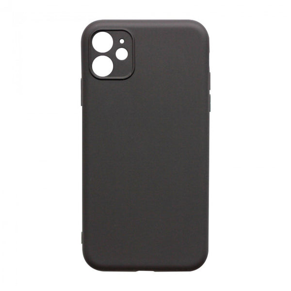 IntelCell - Soft Feeling Case with camera fine hole design for iPhone 11 Case IntelCell Black