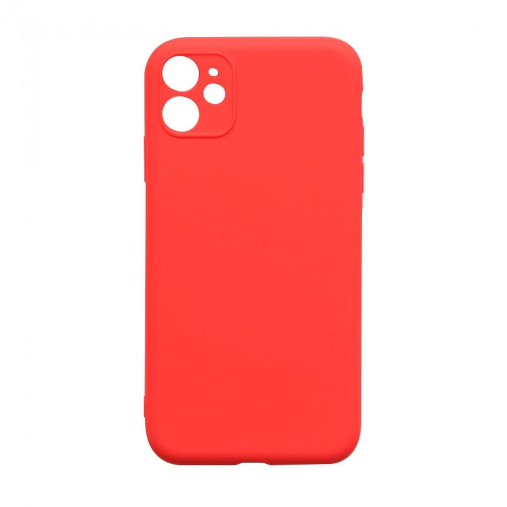 IntelCell - Soft Feeling Case with camera fine hole design for iPhone 11 Case IntelCell Coral