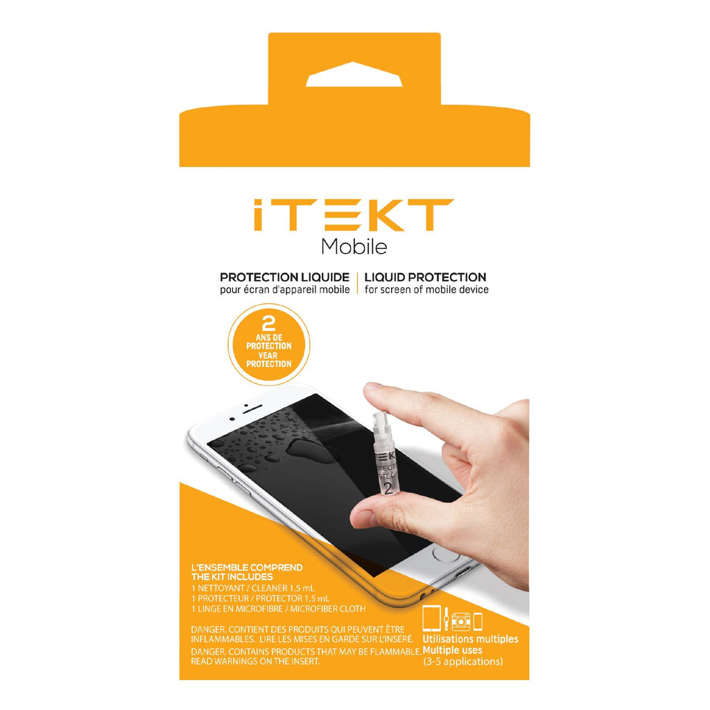 Liquid protection nanotechnology for glass Screen Protector iTEKT