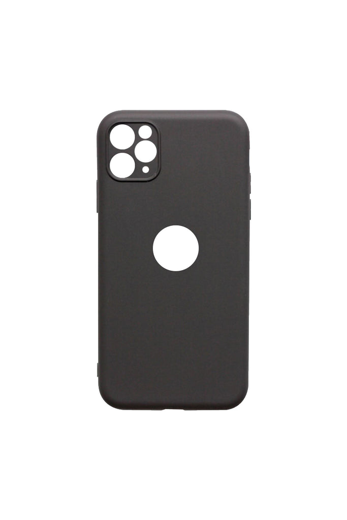 Soft Feeling Case with camera fine hole design for iPhone 11 pro max Case Coconut Black