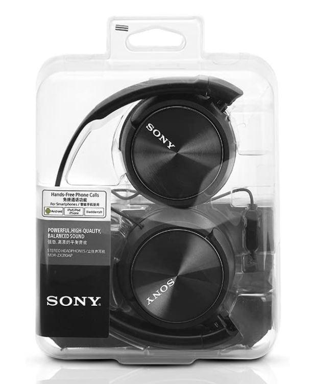 Sony MDRZX310AP Écouteurs intra-auriculaires avec microphone Headphones IntelCell