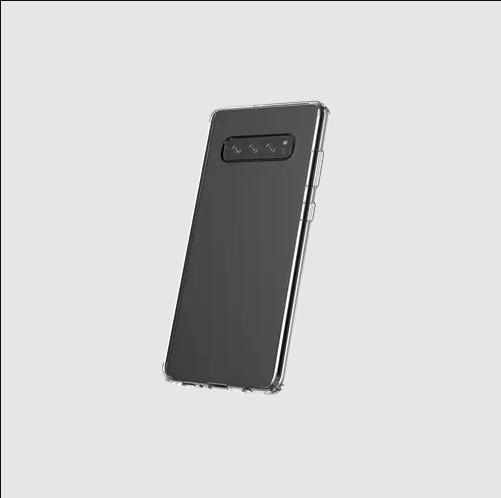 TUFF 8 CLEAR BACK CASE FOR SAMSUNG S10 PLUS Coconut