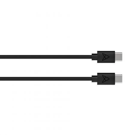 USB-C to USB-C Cable Cable Axessorize Black