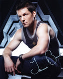 "JAMIE BAMBER as Captain Lee ""Apollo"" Adama - Battlestar Galactica"