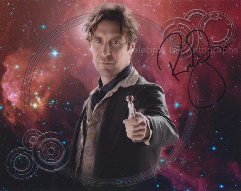 PAUL McGANN as The 8th Doctor - The Doctor Who TV Movie