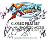 STARGATE - WORMHOLE EXTREME Mutli-Signed Cast Shot - 6 Autographs