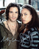 SANTIAGO CABRERA and TAWNY CYPRESS as Isaac Mendez and Simone Deveaux - Heroes
