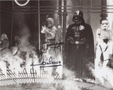 DAVE PROWSE and JEREMY BULLOCH as Darth Vader and Boba Fett - Star Wars