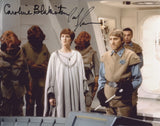 CAROLINE BLAKISTON & PAUL SPRINGER as Mon Mothma and a Mon Calamari Officer - Star Wars: ROTJ