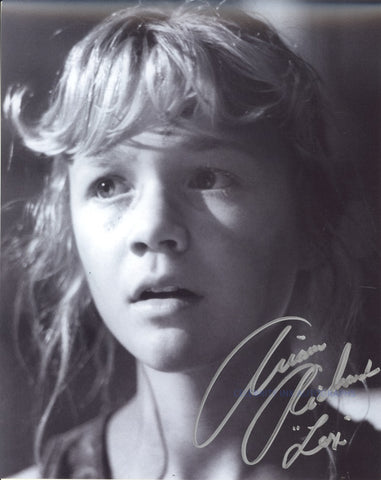 ARIANA RICHARDS as Lex Murphy - Jurassic Park