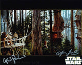 APRIL PERKINS & GLYNN JONES as Ewoks - Star Wars: Return Of The Jedi