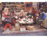 THE BIG BANG THEORY - Triple Signed Cast Photo