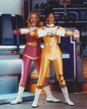 NAKIA BURRISE as Tanya Sloane - The Yellow Power Ranger - Mighty Morphin Power Rangers