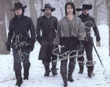 THE MUSKETEERS - Multi Signed Cast Photo - 3 Autographs