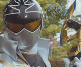 CAMERON JEBO as Orion the Silver Super Megaforce Ranger - Mighty Morphin Power Rangers