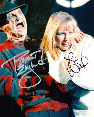ROBERT ENGLUND and LISA WILCOX as Freddy Krueger and Alice Johnson - Nightmare On Elm Street 4